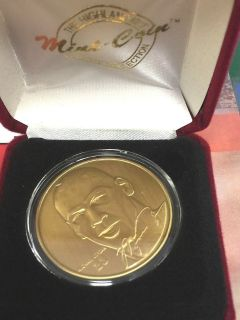 MICHAEL JORDAN HM Bronze Coin w/C.O.A. ** 2 designs to choose from **