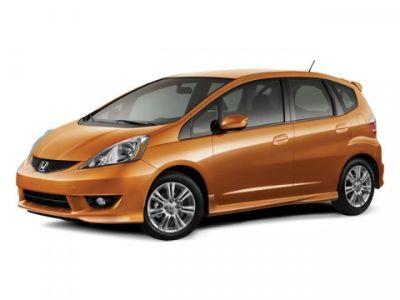 2010 Honda Fit Sport (Orange)