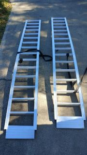 Lawnmower/ATV ramps