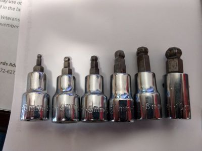 SK ball end allen socket sets SAE/Metric Short & long