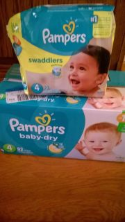 Pampers size 4 lot