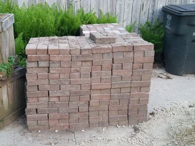 Red 4x8 landscape pavers for sale
