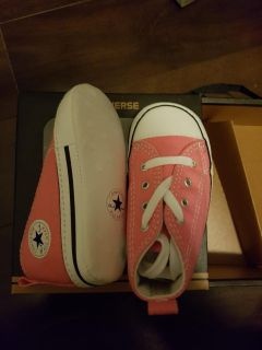 Brand new baby girls Converse shoes - size 3