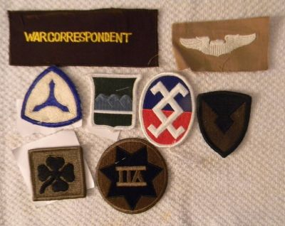 wwii patch collection