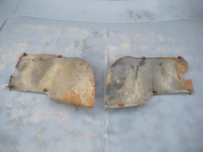 Find 1970 70 coronet r/t 500 front left right splash shield shields dodge fender motorcycle in Bay Village, Ohio, US, for US $100.70