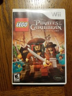 Wii Game Lego Pirates of the Caribbean