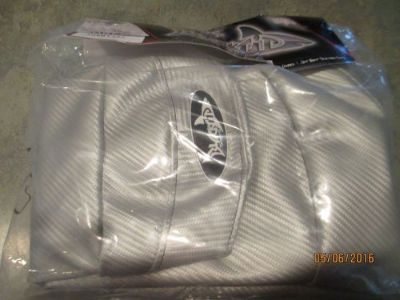 Buy Silver Carbon Fiber SBT Sea-Doo Custom Seat Cover GTI /Wake /GTR /GTS /GTX 155 motorcycle in Fort Myers, Florida, United States, for US $90.00