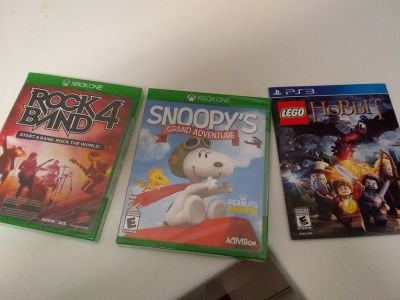 Xbox PS3 games