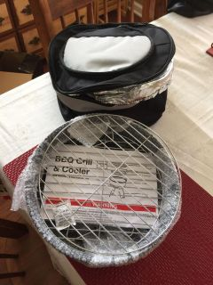 New small portable grill with cooler case cross posted Hernando