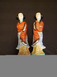 Chinese women figurines