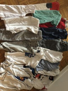 Mixed lot of 18-24 months baby boy clothes & some 3 ans