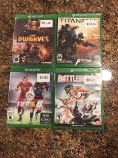 XBOX ONE LOT - preowned