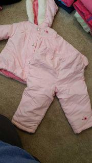 Carter's size 18 months snow coat and pants. Porch pickup