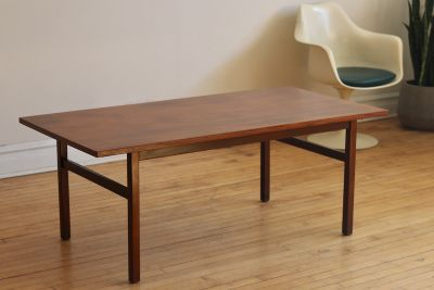 Mid Century Danish Large Rosewood Coffee Table