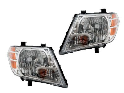 Buy NISSAN FRONTIER 09 10 11 12 HEAD LIGHT LAMP with BULB PAIR 26010 26060 ZL40A motorcycle in Chino, California, US, for US $234.10