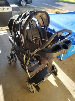 Graco Ready 2 Go Click Connect Double Stroller