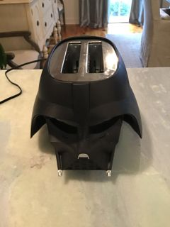 Death Vader toaster. Code cg. Yes, it s cool and it works. Retails for $40.00