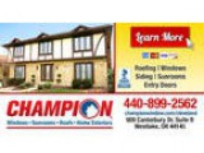 Champion Windows-Sunrooms- Roofs-Home Exteriors
