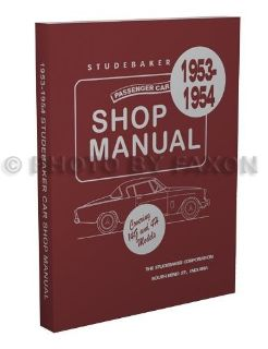 Sell 1953 1954 Studebaker Car Shop Repair Manual Champion Commander Land Cruiser Star motorcycle in Riverside, California, United States, for US $39.00