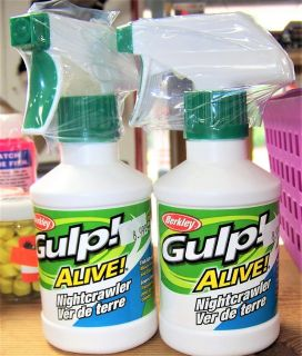 Gulp! Alive Fish Attractant--Nightcrawler