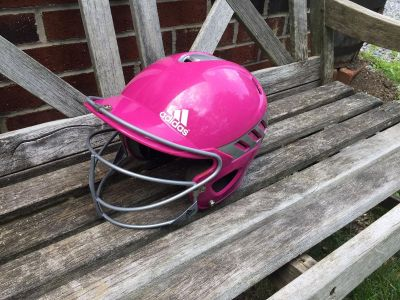 Girls Adidas Softball Helmet, excellent condition, asking $15 (cost $50 @ Dick s) **READ PICK-UP DETAILS BELOW