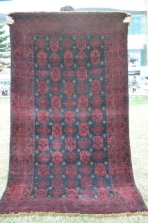 Two Janbagi Semi Antique Tribal Rugs