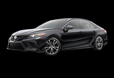 2019 Toyota Camry SE (Midnight Black Metallic)