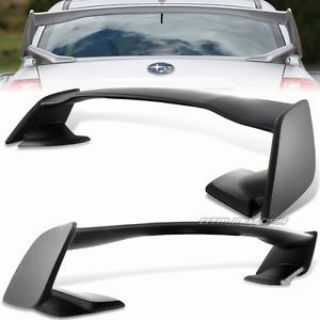 Purchase ABS Premier Black Rear Trunk Spoiler Wing For 08-14 Subaru WRX/Impreza STi 4DR motorcycle in Rowland Heights, California, United States