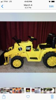 Tractor With Front Lift