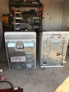 2 year old Maytag continental washer and dryer