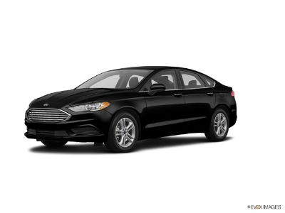 2018 Ford Fusion SE (Shadow Black)