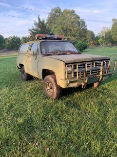 1985 Chevy blazer