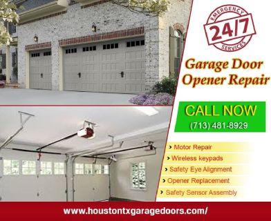 1 Hour | Emergency Garage Door Opener System Repair ($25.95) Houston, 77008 Texas