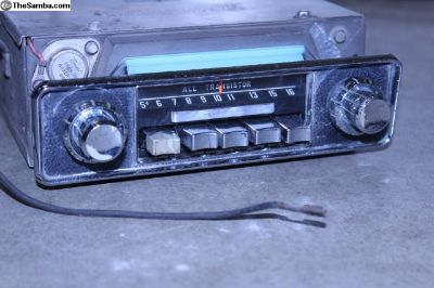 1967 Sapphire V 12V AM Bus /Ghia Radio