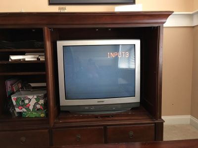 Free TV. Very heavy.