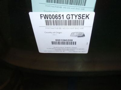 Purchase 1990-95 Porsche 944S2/ 968 Cabriolet OEM Green Tint Windshields $460! motorcycle in Andover, Massachusetts, United States, for US $460.00