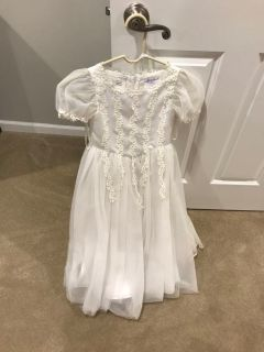 communion dress size 6