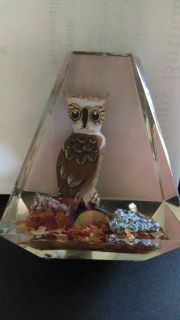 Owl paper weight