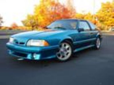 1993 Ford Mustang Cobra Coupe Manual