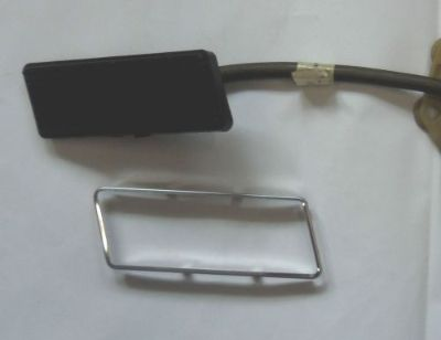 Purchase NOS OEM 73-79 FORD truck Bronco stainless steel gas pedal trim;RANGER XLT LARIAT motorcycle in Tipp City, Ohio, United States, for US $50.00