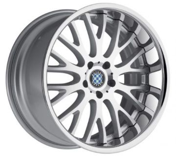 Purchase Beyern Munich 18x9.5 Rims 5x120 +25 Silver Wheels (Set of 4) motorcycle in Hayward, California, United States, for US $1,720.00