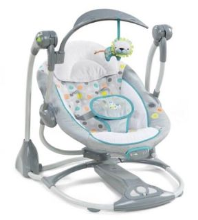 Fisher Price Ingenuity Convertme Swing 2 Seat Portable Swing