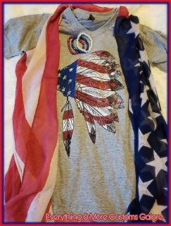 Shirts and Flag Vests