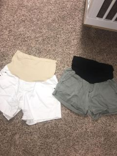 A-glow maternity shorts from Kohl s LOT