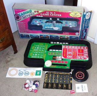 Vintage Marx Casino Royale Complete Game Center In Box - Never Used!