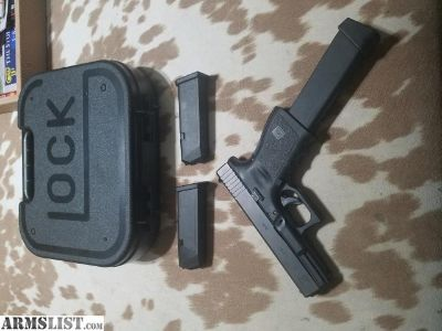 For Sale: Glock 19 9MM Gen 3 Box and 3 Mags