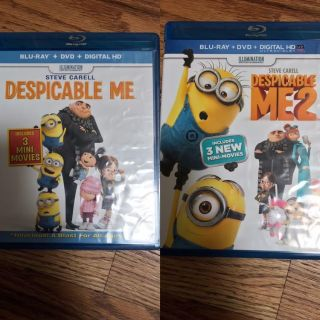 Despicable Me Blu-Ray and DVD