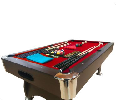 Simba vintage red billard table