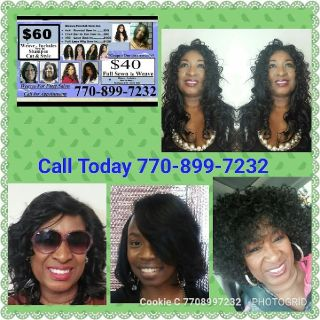 Styles By Cookie $40 Weave Sewn- In