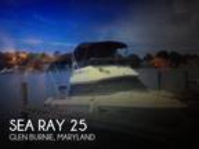 Sea Ray - SRV 255 Sedan Bridge